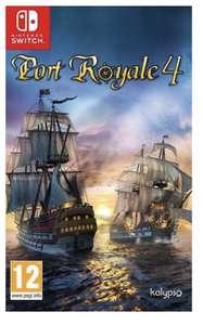 Port Royale 4 sur Switch