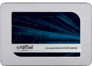 "SSD interne 2.5"" Crucial MX500 (CT500MX500SSD1) - 500 Go, TLC 3D, DRAM"