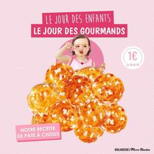 Paquet de 10 chouquettes - Boulangeries Marie Blachère