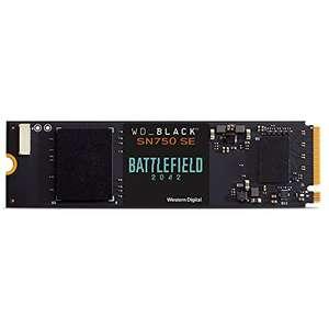 SSD M.2 NVMe WD_Black SN750 SE - 1To + Jeu Battlefield 2042 (Dématérialisé)