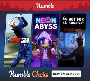 Humble Bundle Choice - Septembre 2021 : PGA Tour 2K21 + 11 Jeux sur PC (Dématérialisé - Steam)
