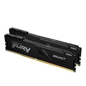 Kit mémoire RAM Kingston FURY Beast (KF432C16BB1K2/32) 32 Go (2 x 16 Go) - DDR4, 3200 MHz, CL16