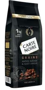 Paquet de café en grains Carte Noire PurArabica- 1 kg (via BDR)