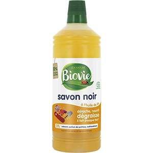 Savon noir huile de lin Biovie - 1L