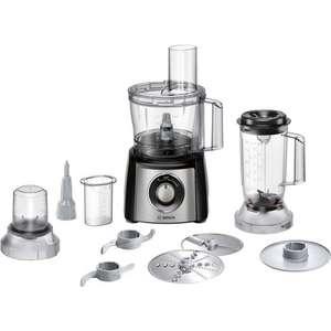 Robot de cuisine multifonction Bosch MultiTalent 3 MCM3501M - 800 W, 2.3 L, Inox Brossé (Via ODR 16€)
