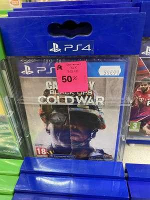 Jeu Call of duty cold war sur PS4 - Auchan bouliac (33)