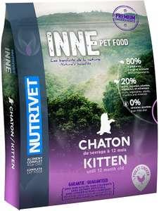 Paquet de Croquettes pour chaton Nutrivet Inne - 1.5Kg
