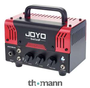 Sélection de têtes d'ampli guitare Joyo en promotion - Ex : Joyo Jackman hybride 20 W