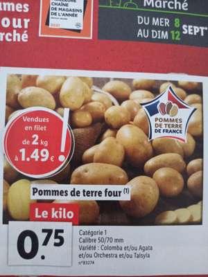 Pomme de terre four - catégorie 1, le kg (origine France)