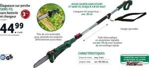Élagueuse sur perche sans-fil ParkSide - 20 cm, sans batterie, ni chargeur