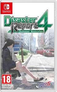Disaster Report 4: Summer Memories sur Switch