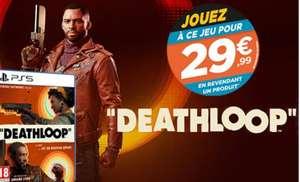 Deathloop sur PS5 à 29.99€ en revendant un jeu parmi une sélection