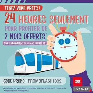 1 mois d'abonnement aux transports TCL + carte Técély offerts - Lyon (69) - boutique.TCL.fr