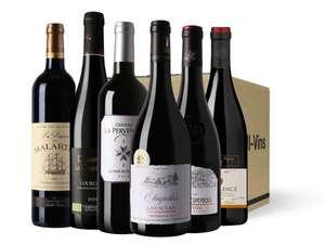 Sélection de vins en promotion - Ex: Pack de 6 bouteilles Vins Rouges 2nd Edition (lidl-vins.fr)