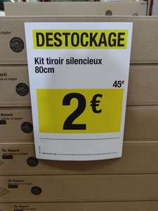 Kit tiroir silencieux 80 cm - Bourges (18)