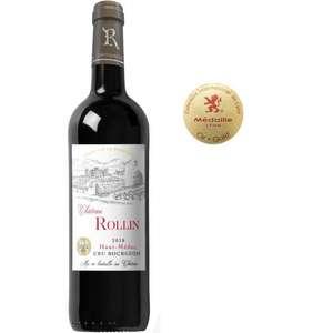 Vin rouge Haut-Médoc Cru Bourgeois Château Rollin 2018