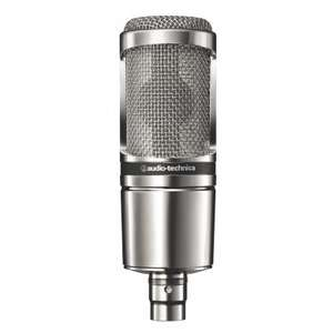 Microphone à condensateur large membrane Audio Technica AT2020V