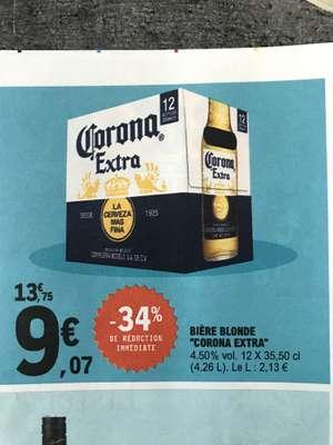 Pack de 12 Bières Corona extra - 12 x 35,5cl