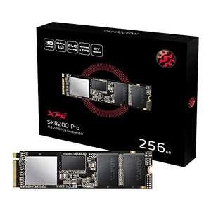 SSD interne M.2 NVMe Adata XPG SX8200 Pro - 256 Go, TLC 3D, DRAM (Jusqu'à 3500-3000 Mo/s en Lecture-Écriture)