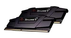 Kit Mémoire RAM G.Skill Ripjaws V - 32 Go (2 x 16 Go), DDR4, 3600 MHz, CL18 (F4-3600C18D-32GVK)