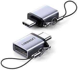 Lot de 2 adaptateurs USB Type C Mâle vers USB A Femelle (vendeur tiers)