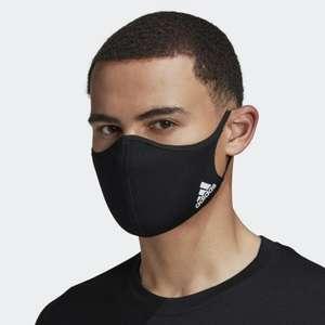 Lot de 3 masques Adidas - Noir