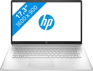 "PC Portable 17.3"" HP 17-CP0036NB - écran HD+ IPS - Ryzen 5 5500U, 16 Go RAM, 512 Go SSD, Windows 10 (Frontaliers Belgique) clavier AZERTY"