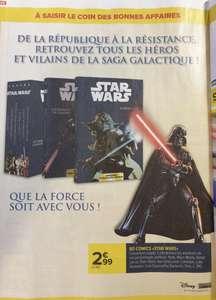 Sélection de comics Star Wars à 2.99€