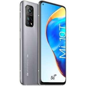 "Smartphone 6.67"" Xiaomi Mi 10T 5G - 128 Go, Gris (via 100€ d'ODR)"