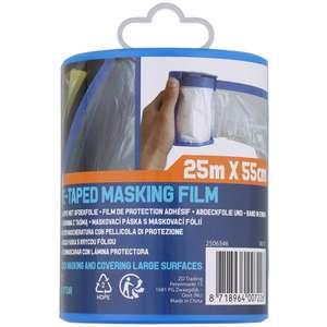 Film plastique à ruban adhésif - 25m