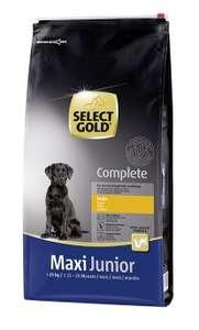 Sac de Croquettes pour chien Select Gold Complete Maxi Junior Poulet - 12 kg