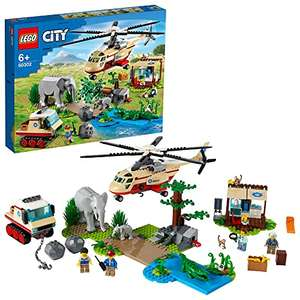 Jouet Lego City Wildlife L'opération de Sauvetage des Animaux Sauvages 60302