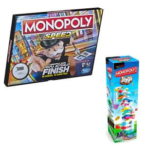 [VIP] Jeu de société Monopoly Speed ou Jenga - Édition spéciale Monopoly