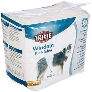 Couches Trixie pour chien - Taille L (60-80 Cm), 12 Unités