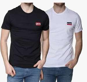 Lot de 2 T-Shirts Levi's Crewneck Graphic (du XXS au 3XL)