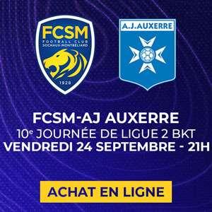 Place en tribune Forges pour le match de football de ligue 2 Sochaux - Auxerre