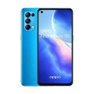 "Smartphone 6.43"" Oppo Find X3 Lite - 8 Go RAM, 128 Go, Bleu Astral"
