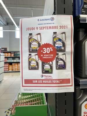 30% de réduction sur les huiles Total - Carrières-sous-Poissy (78)