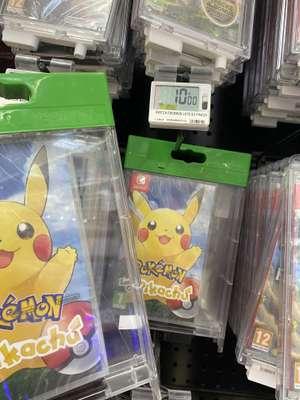 Pokémon Let's Go Pikachu sur Switch - Nice Lingostière (06) / Chartres (28) / Rosny (93)