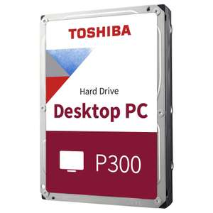 """Disque dur interne 3,5"""" Toshiba P300 - 1 To, 7200 trs/min, CMR (+ 5€ à cagnotter en déposant un avis pour les CDAV)"""