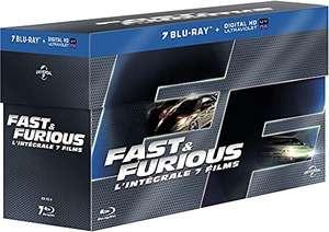 Coffret Blu-ray Fast & Furious - L'Intégrale des 7 films (+ versions numériques)