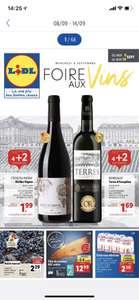 Foire aux vins Lidl: 4 bouteilles achetés = 2 identiques offertes