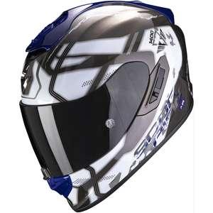 Sélection de casques moto en promotion - Ex: Casque Scorpion Exo-1400 Air Spatium (moto-privee.com)