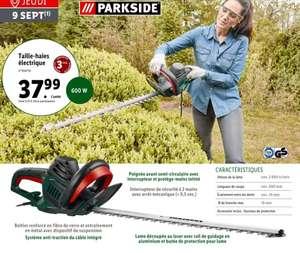Taille-haies électrique ParkSide - 60 cm, 600 W