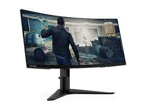 "Ecran PC gaming 34"" Lenovo G34W-10 - UWQHD, Dalle VA, 144 Hz, Incurvé, FreeSync, Pied réglable ( Via ODR de 100€)"