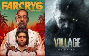 2 jeux offerts (FarCry 6 + Resident Evil Village) pour l'achat d'un produit éligible AMD dans les enseignes participantes (sous Conditions)