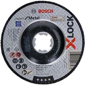 Disque à Tronçonner à Moyeu Déporté Bosch Professional 2608619257 Expert for Metal (pour les Métaux, X-Lock, Ø 125 mm)