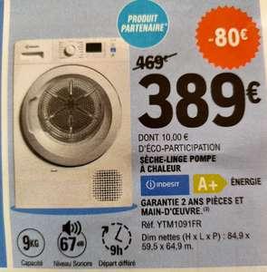 Sèche-linge avec pompe à chaleur Indesit YTM1091FR - Casteljaloux (47)