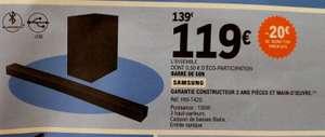 Barre de son 2.1 Samsung HW-T420 avec Caisson de basses filaire - 150W, Bluetooth, Leclerc Casteljaloux (47)