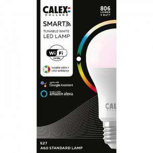 Ampoule connectée LED Calex standard E27 ( Compatible Alexa et Google Home )